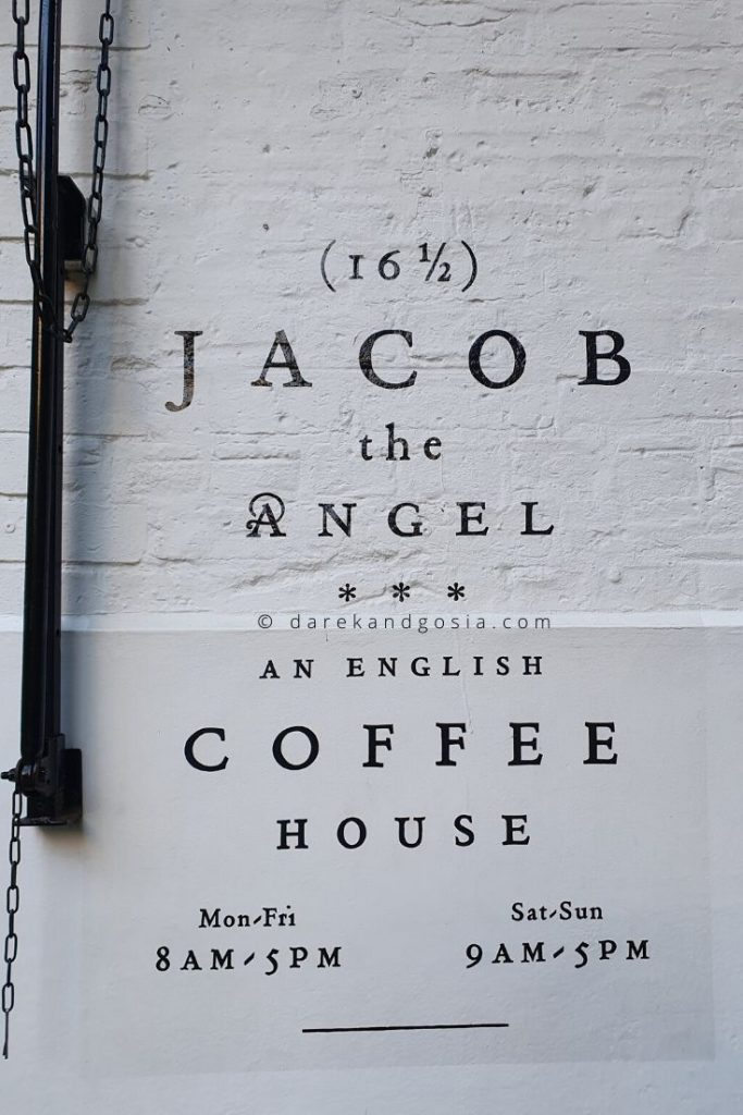 Neal's Yard Covent Garden, London - Jacob the Angel Cafe