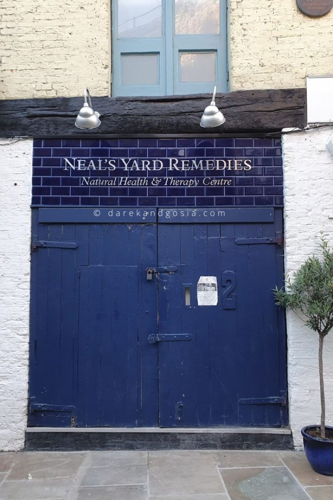 Neal's Yard Covent Garden, London - Neal's Yard Remedies