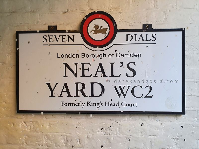 Neal's Yard Covent Garden, London - Neal's Yard history