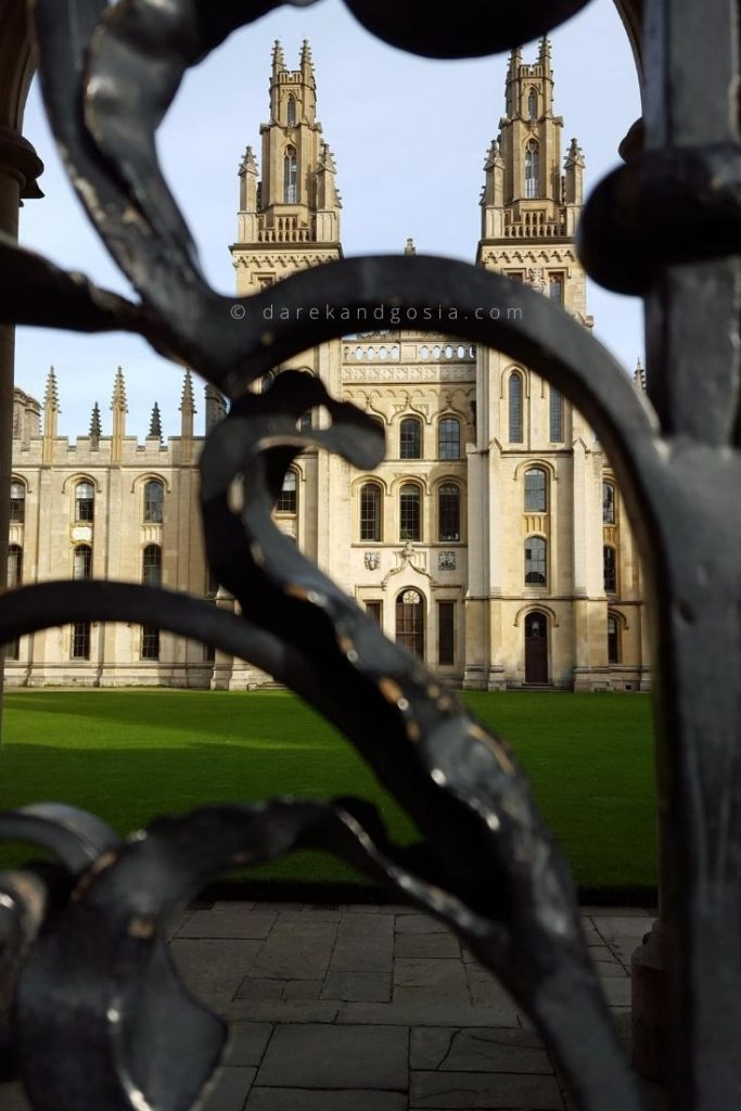 Places to visit near London - Oxford