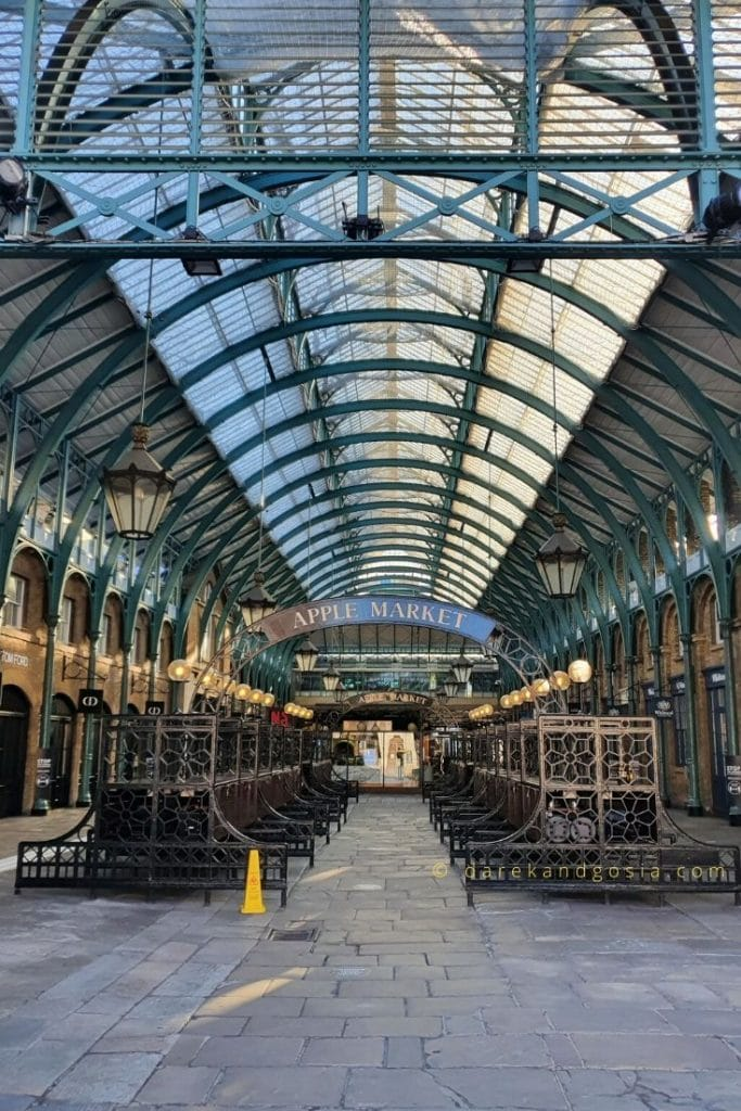 Things to do in Covent Garden - Apple Market