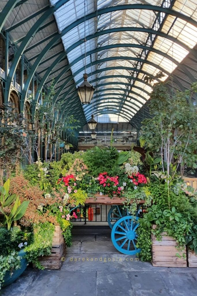 Things to do in Covent Garden - Jubilee Market