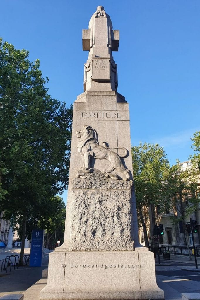 Things to do in Covent Garden London - Edith Cavell Memorial