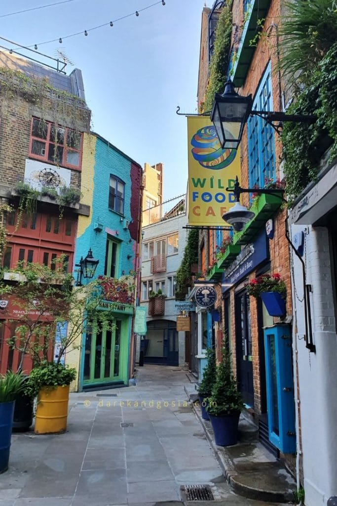 Things to do in Covent Garden London - Neal's Yard