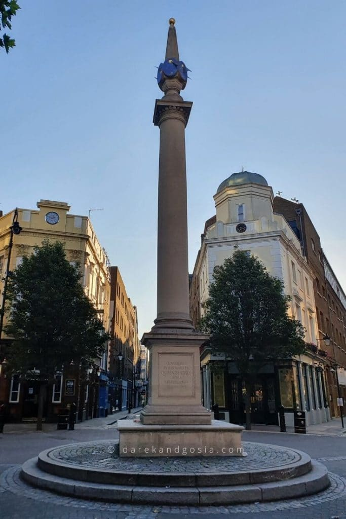 Things to do in Covent Garden - Seven Dials