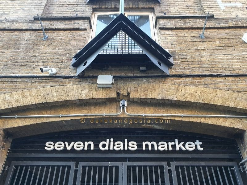 Things to do in Covent Garden - Seven Dials Market