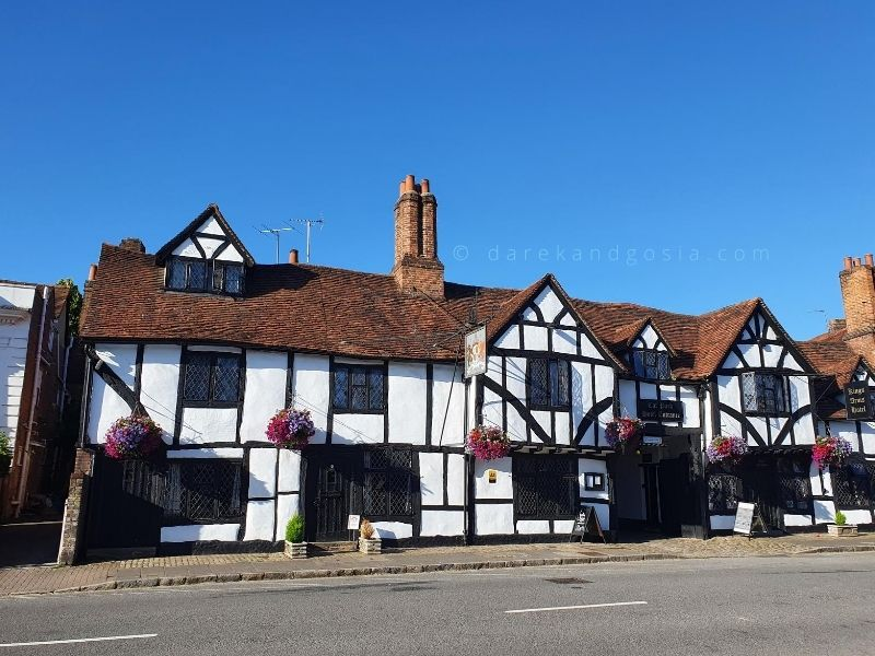 Best places to visit in England - Old Amersham