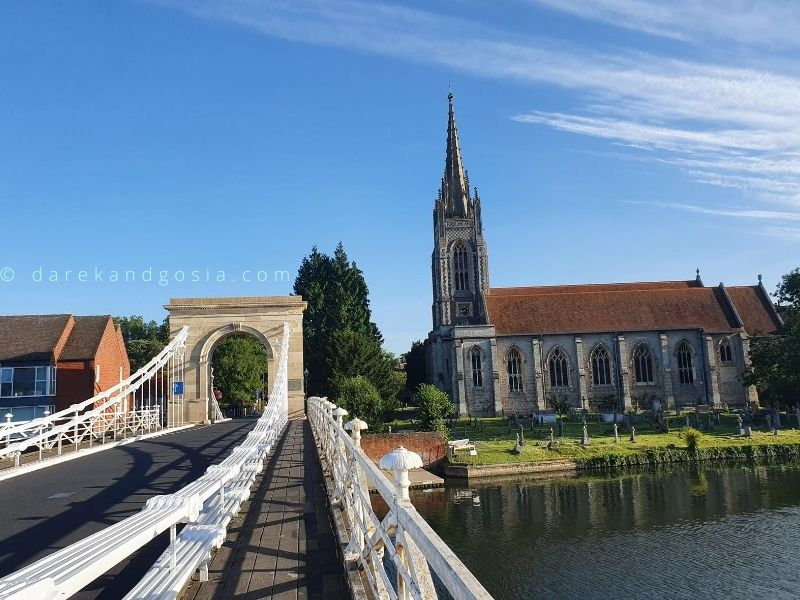 Day trips from London by car - Day out to Marlow
