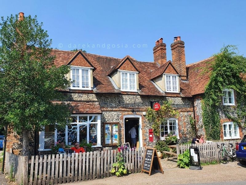 Places to visit in England - Hambleden
