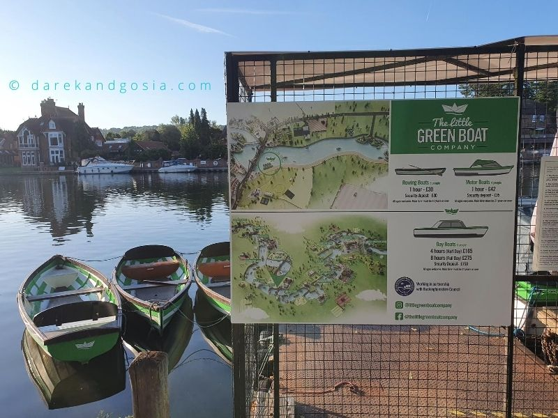 Things to do in Marlow Buckinghamshire - The Little Green boat company