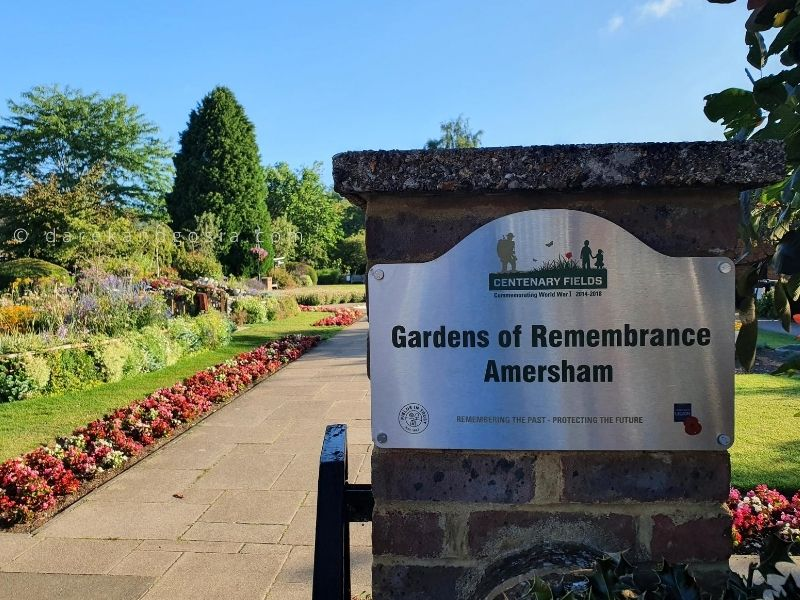 Things to see in Old Amersham - Gardens of Remembrance Amersham