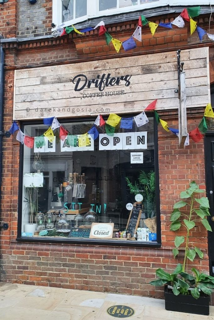 Henley on Thames Oxfordshire - Drifters coffee house