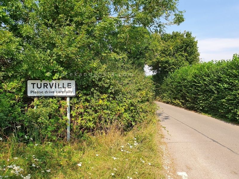 How to get to Turville from London
