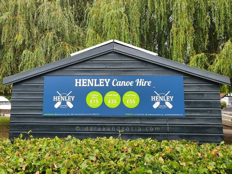 Things to do in Henley on Thames - Henley canoe hire