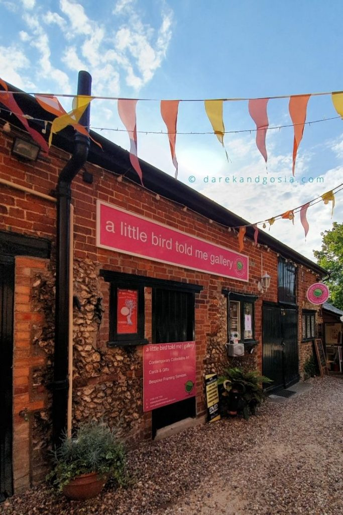 Things to do in Wendover Buckinghamshire - A Little Bird Told Me Gallery