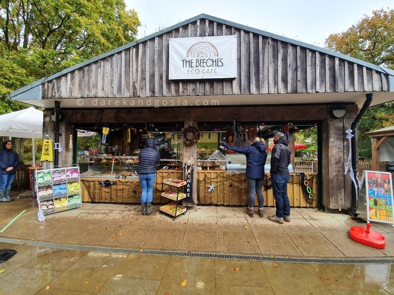 Burnham Beeches - The Beeches Eco Cafe