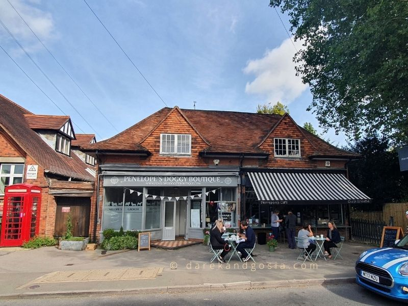 Goring-on-Thames Oxfordshire - Pierreponts Café