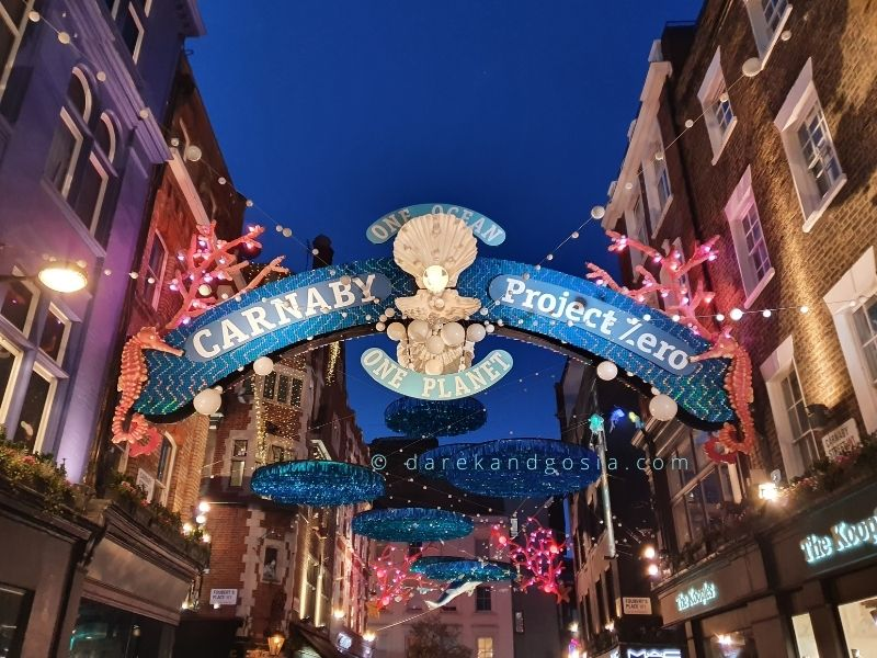 London in a day - Carnaby Street