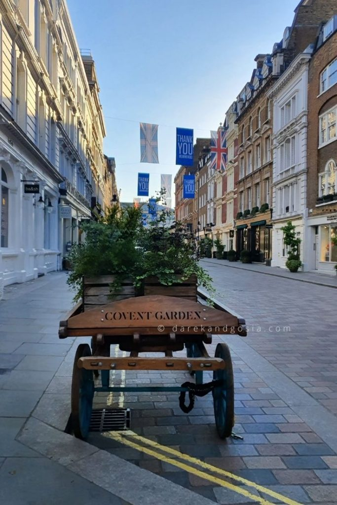One day in London - Covent Garden