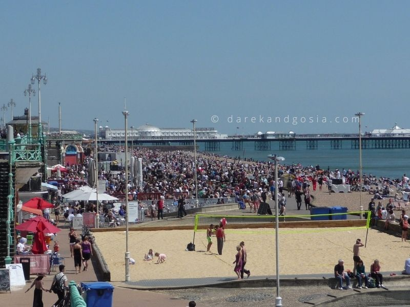 Best beaches near London - Brighton Beach, Sussex
