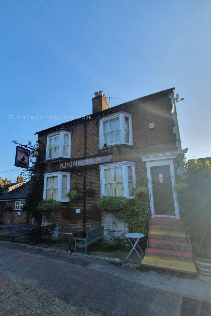 Best things to do in Berkhamsted Hertfordshire - The Rising Sun Pub