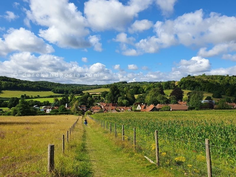 Best villages near me - Turville, Buckinghamshire