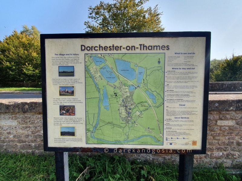 Dorchester-on-Thames Oxfordshire - Where is Dorchester on Thames