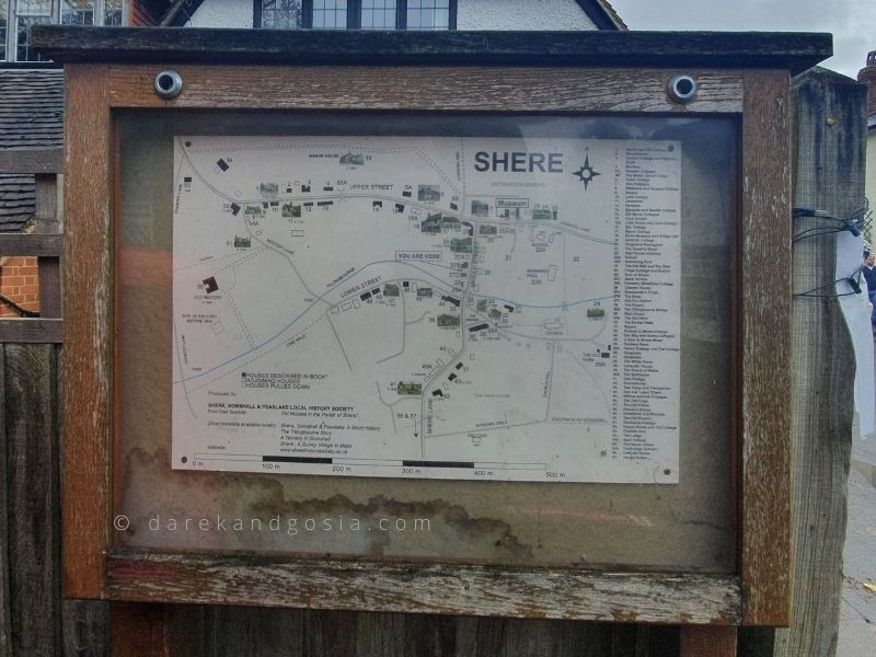How do I get to Shere from London