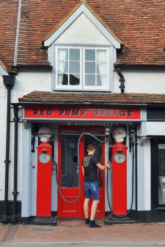 Things to do in Great Missenden Buckinghamshire - Red Pump Garage