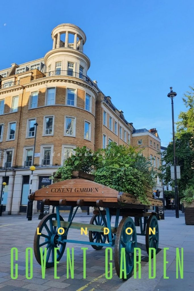 What is Covent Garden famous for