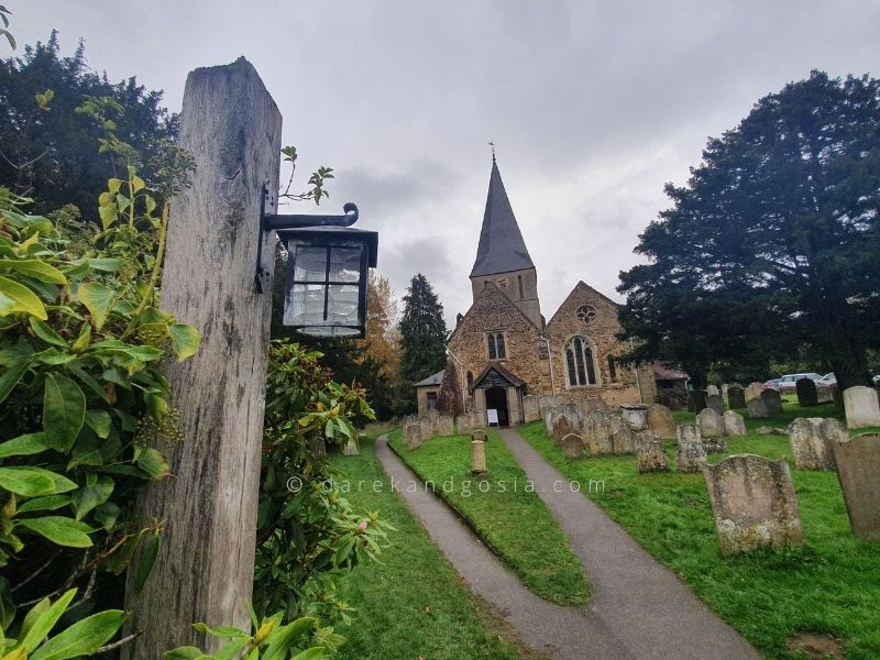 What to see in Shere Surrey - Church of St Peter and St Paul