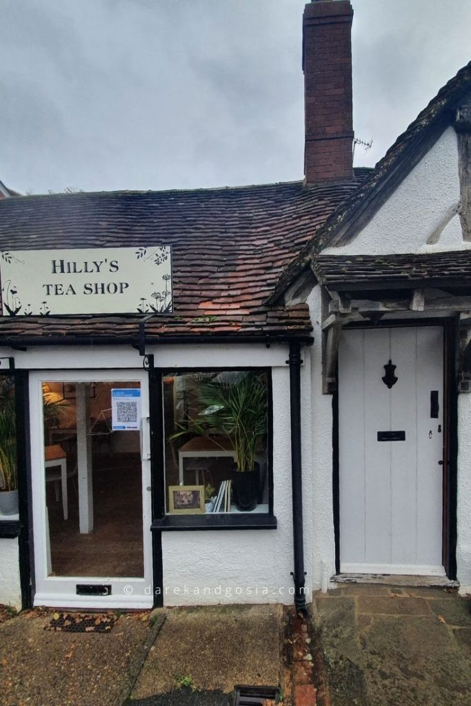 What to see in Shere Surrey - Hilly's Tea Shop