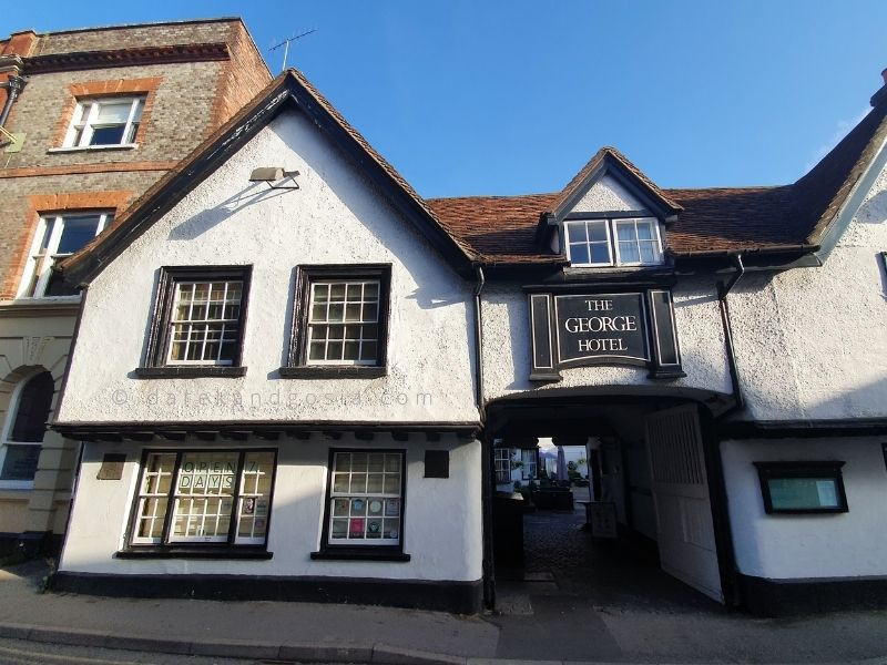 What to see in Wallingford - The George hotel
