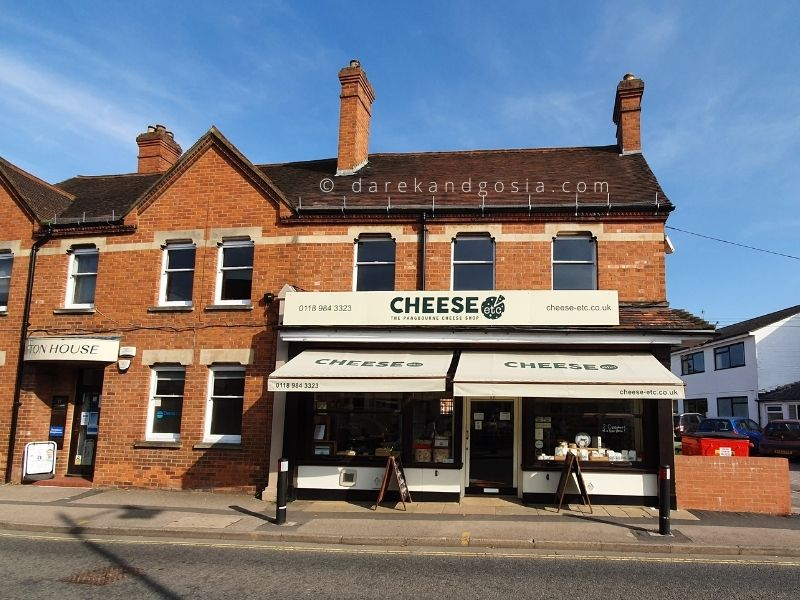Best things to do in Pangbourne Berkshire - Cheese Etc