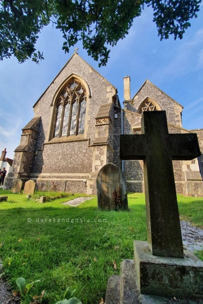 Best things to do in Pangbourne Berkshire - St James The Less