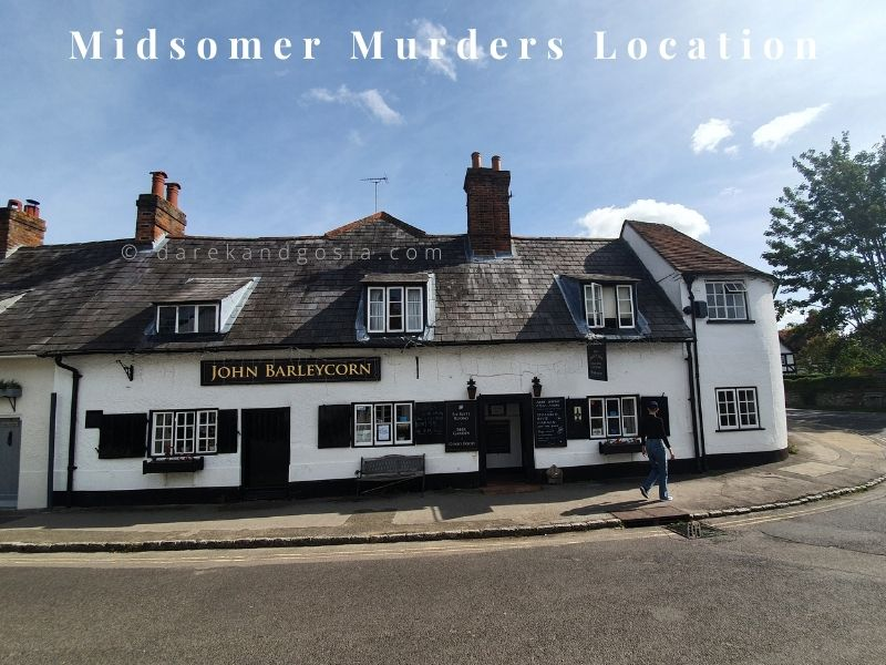 Midsomer Murders locations - Goring-on-Thames