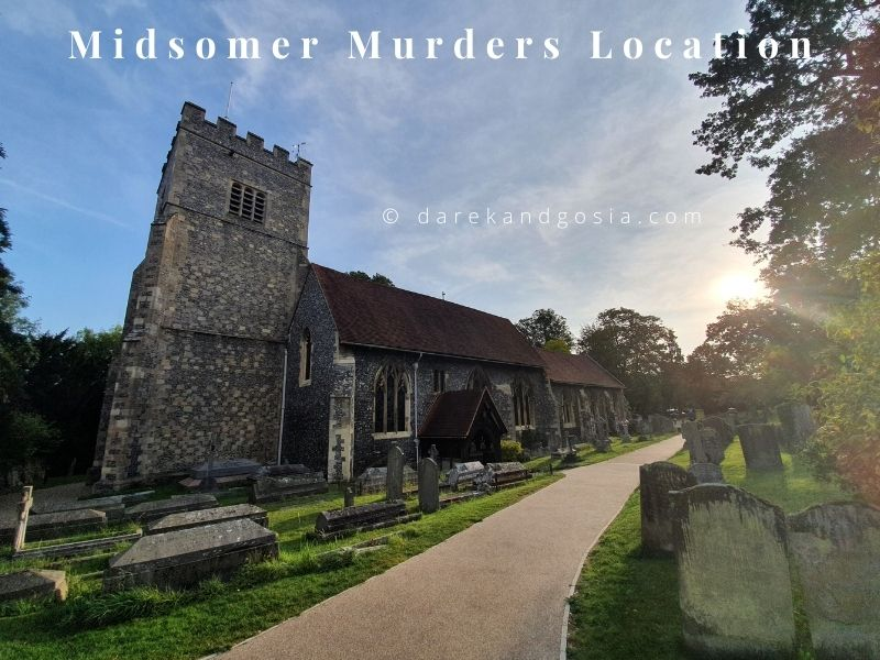 Midsomer Murders locations - Sonning-on-Thames