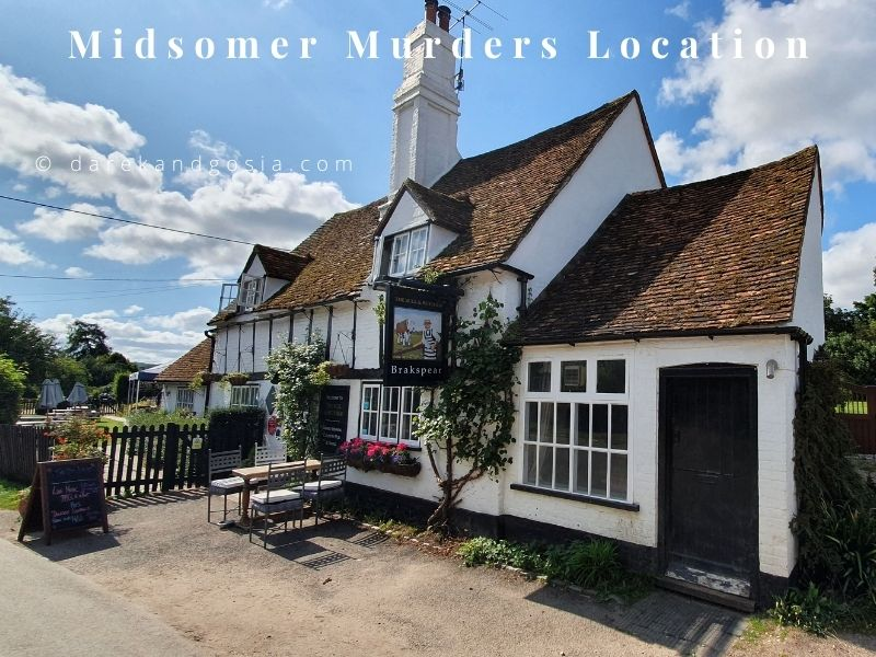 Midsomer Murders locations - Turville