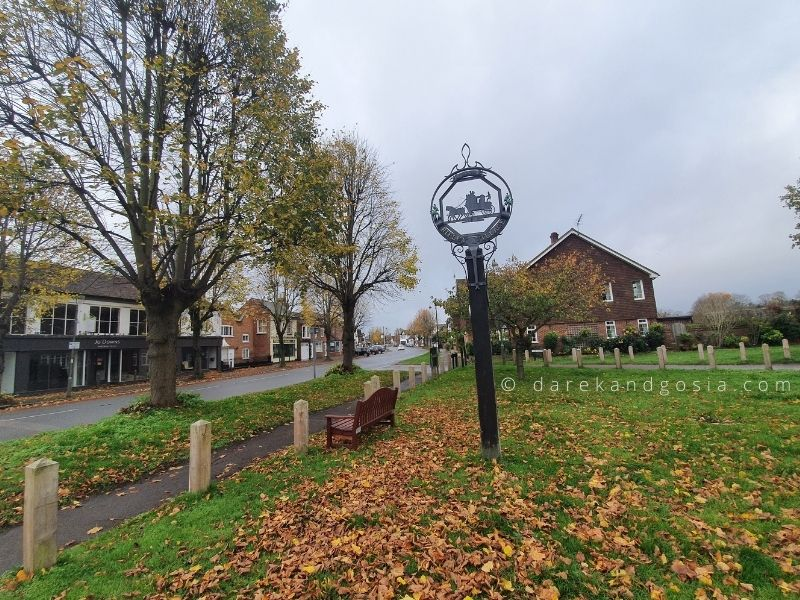 Most beautiful village in England - Ripley, Surrey