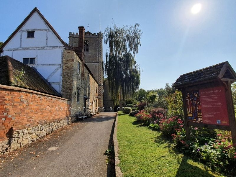 Nicest villages in England - Dorchester-on-Thames, Oxfordshire