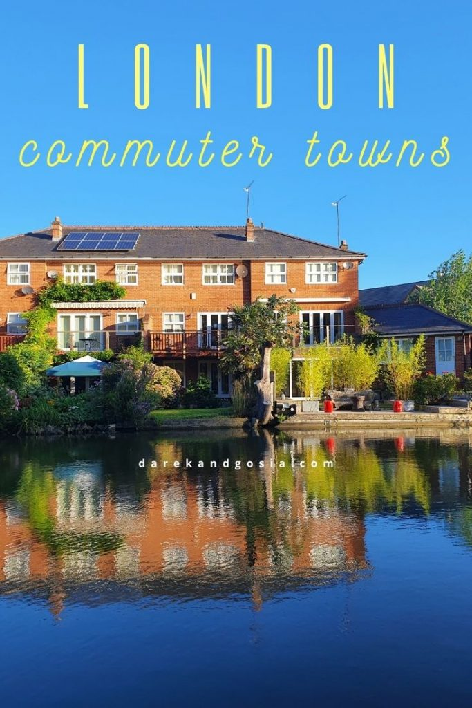 Best commuter towns near London - TOP hotspots around London
