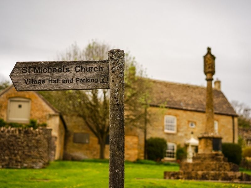 Best village in the Cotswolds - Guiting Power