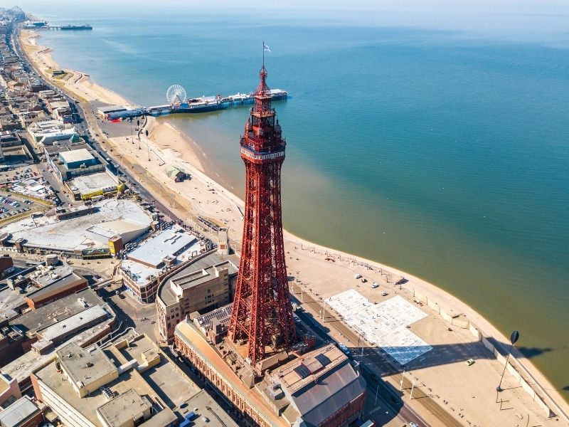 Famous British buildings - Blackpool Tower