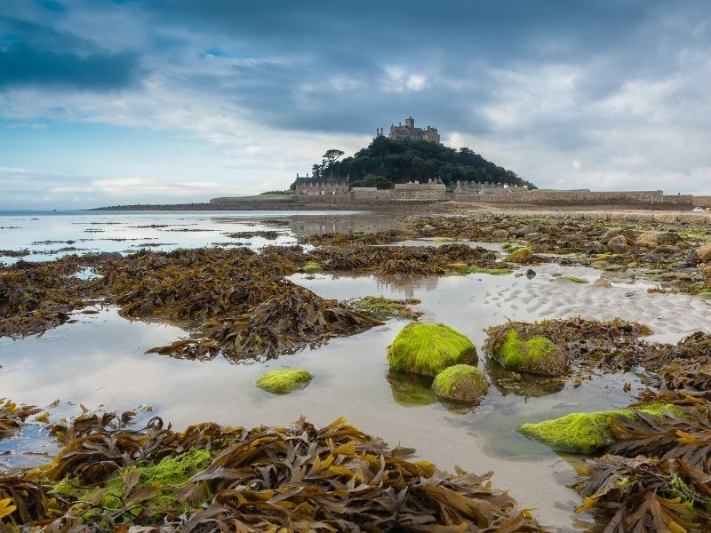 Famous places in the UK - St Michael's Mount
