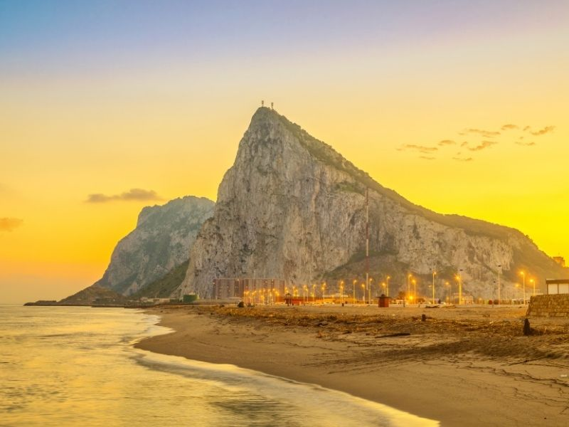 Hot places to visit in March Europe - Gibraltar