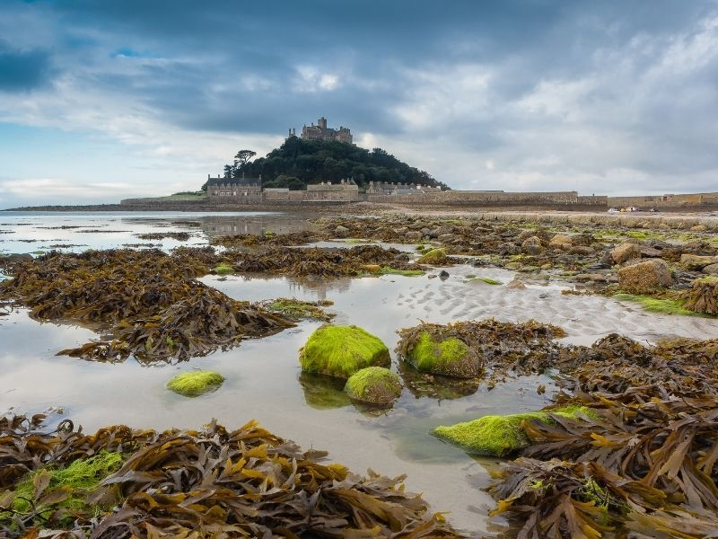 Magical places in England - St Michael's Mount
