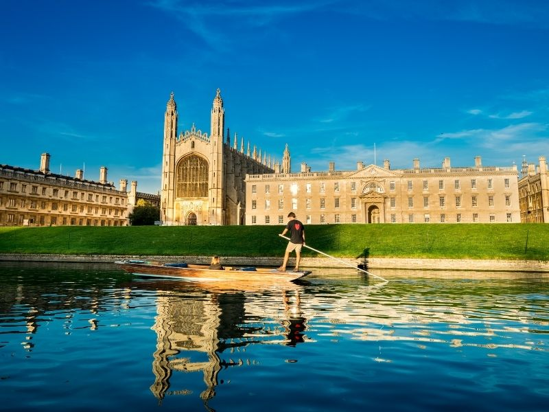 Most beautiful places in England - Cambridge