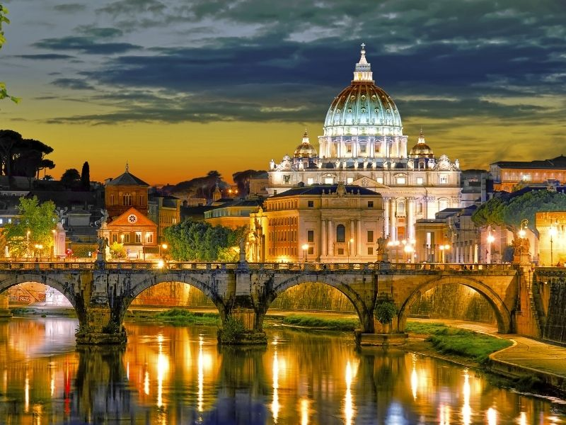 Most romantic European cities - Rome