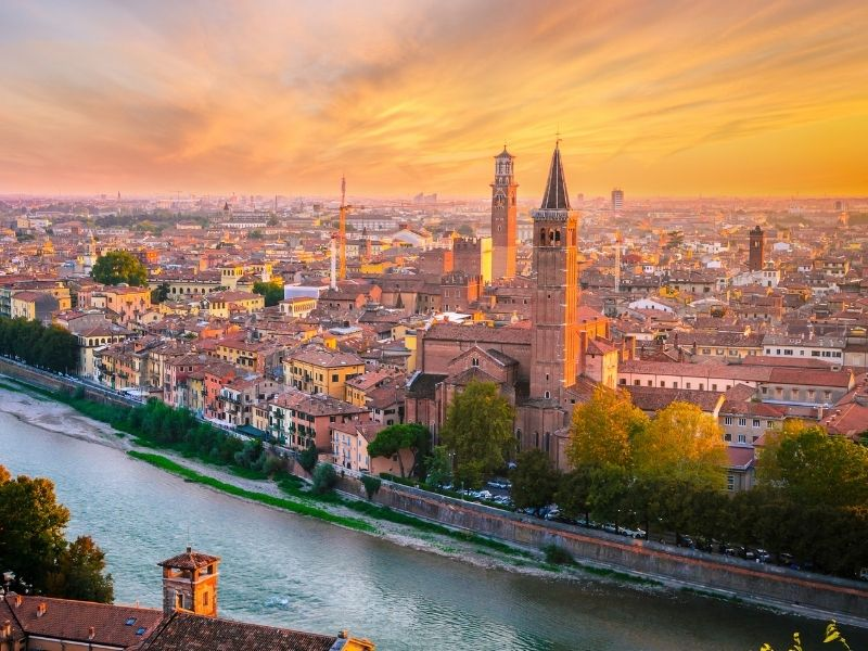 Most romantic cities in Europe - Verona