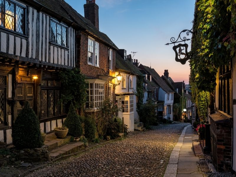 Places in the south of England - Rye